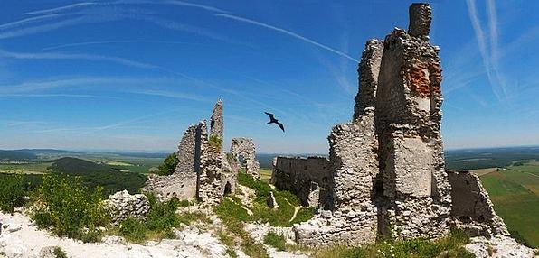 Plavecký Castle Shells Castle Fortress Ruins Slova