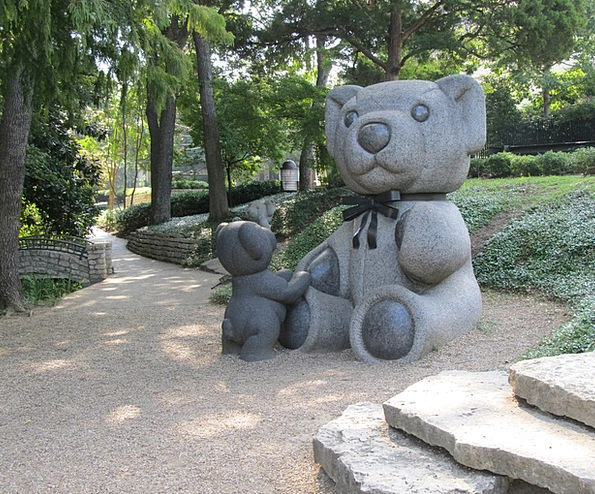Teddy Bears Statuaries Park Common Sculptures Dall
