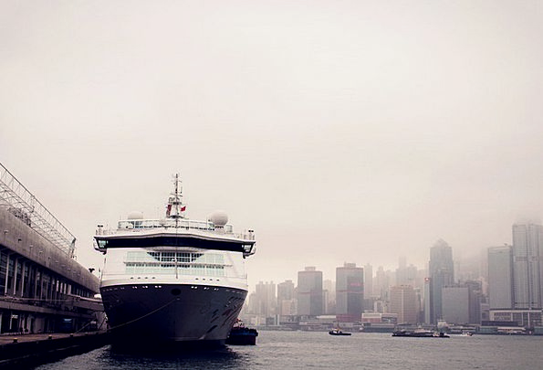 Ferry Vessel Hong Kong Ship Cruise Voyage Victoria