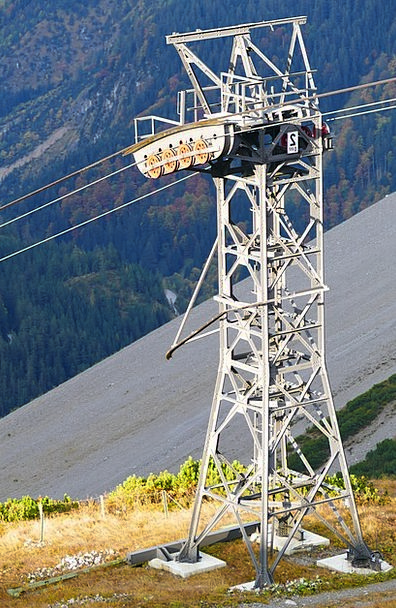 Mast Pole Cable Car Seilbahn Mast Gondola Masts Ca