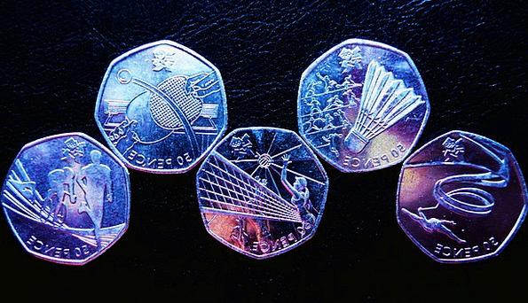 Olympic Finance Changes Business Money Cash Coins