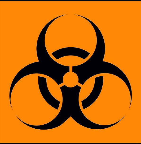 Warning Cautionary Medical Health Hazard Danger Tr