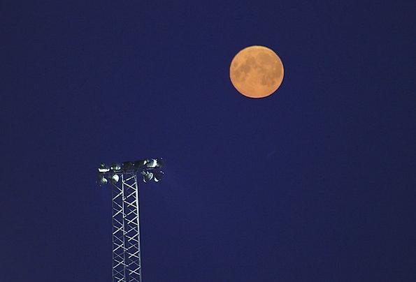 Moon Romanticize Creamy Orange Carroty Yellow Blue