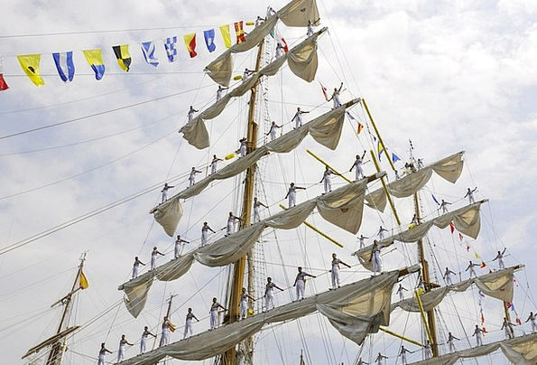 Ship Vessel Buildings Marine Architecture Sailing-