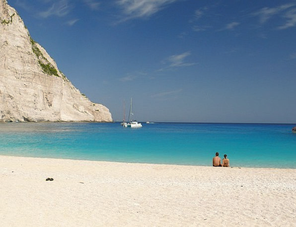 Zakhintos Vacation Travel Sea Marine Greece Clouds
