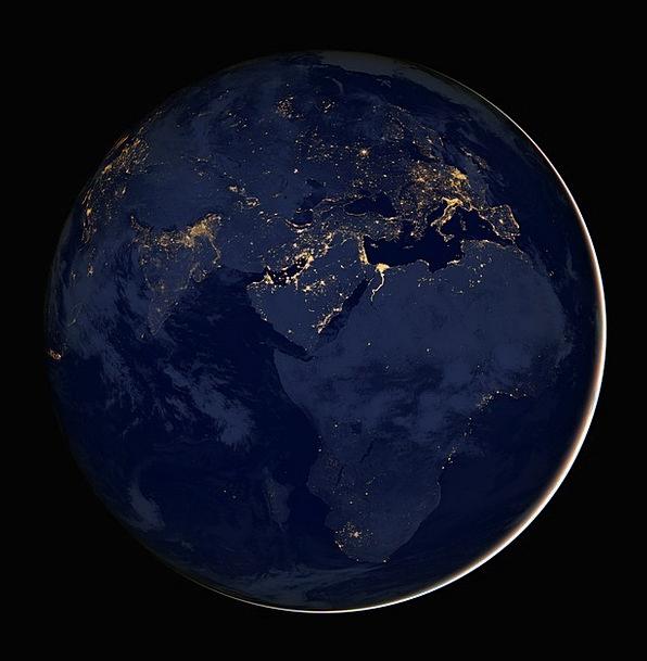Earth Soil Globe Sphere Africa City Cities Metropo