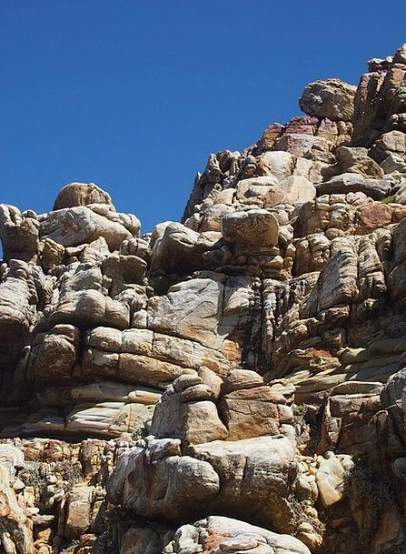 Rock Pillar Crags South Africa Mountains