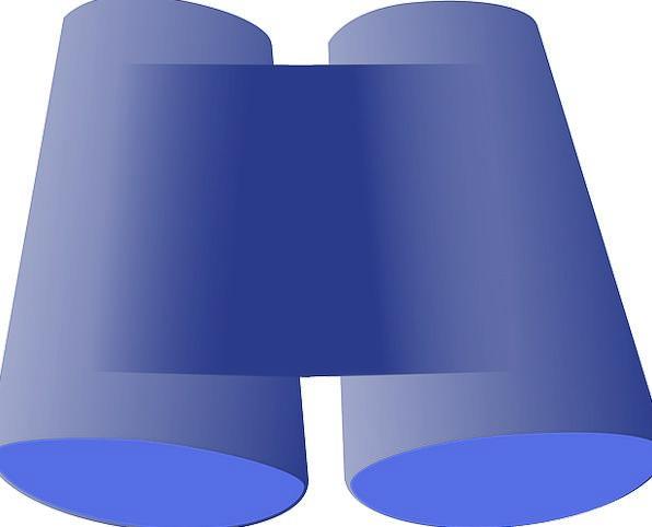 Binoculars Eyeglasses Symbol Tools Gears Sign Opti