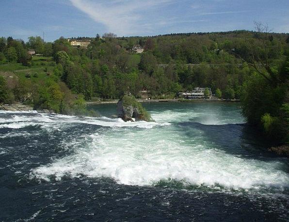 Rhine Falls Rhine Schaffhausen Waterfall Cascade R