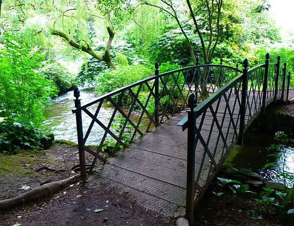 Bridge Bond Landscapes Stream Nature Bach River Ro