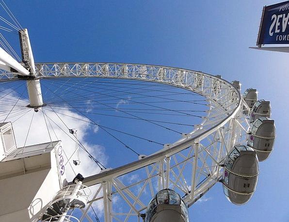 Ferris Helm Amusement Laughter Wheel Rotate Ride T