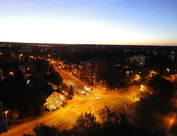 Gain Improvement Roads Night Nightly Streets