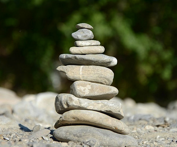Balance Equilibrium Gravels Stone Balance Stones S