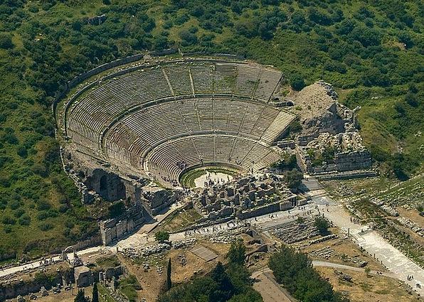 Ephesus Vacation Travel Greek Turkey History Theat