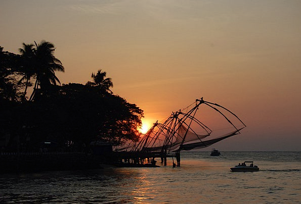 Fishing Nets Vacation Travel Flow Movement India S