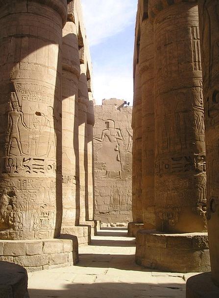 Egypt Karnak Luxor Columnar 99