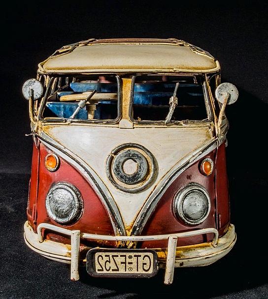 Sheet Metal Car Vw Bus Model Car Volkswagen Camper