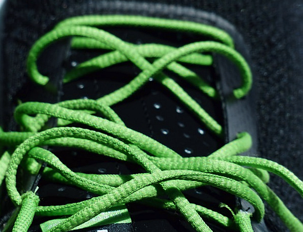 Shoelaces Cords Fastening Green Lime Lacing Run Sp