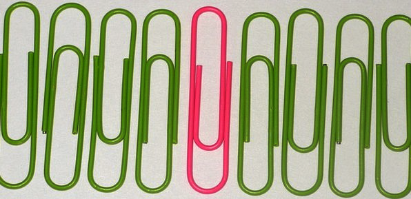 Paperclips Fasteners Finance Commercial Business O