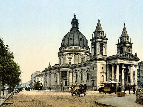 Church Ecclesiastical Warsaw St Alexander Church P