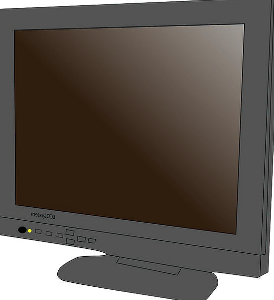 Lcd Flat Level Monitor Free Vector Graphics Panel