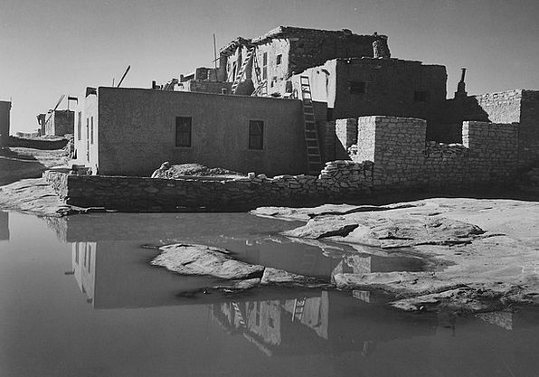 New Mexico Landscapes Nature Black And White 1930S