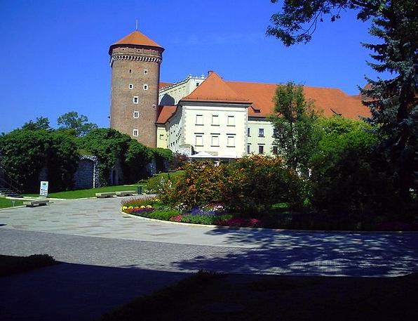 Poland Buildings Architecture Wawel Kraków Sky Mon