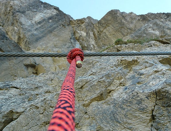 Wire Rope Holdup Rope Cord Backup Climb Security S