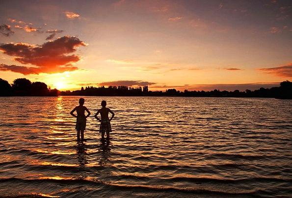Badesee Vacation Dip Travel Children Broods Swim W