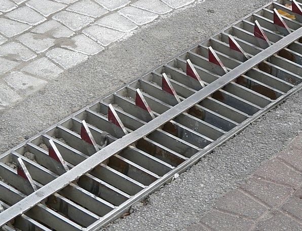 Roadblock Barricade Roadway Road Metal Teeth Block