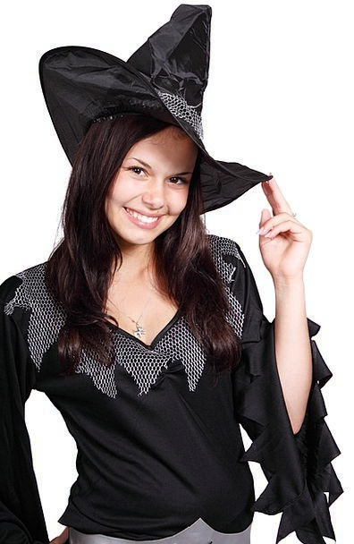Adult Mature Dark Body Form Black Smiling Costume