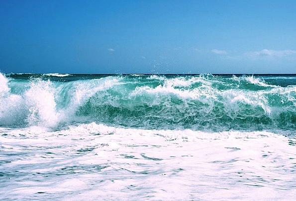 Ocean Marine Vacation Surfs Travel Tide Current Wa
