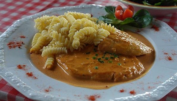 Rahmschnitzel Drink Food Eat Bother Schnitzel Crea