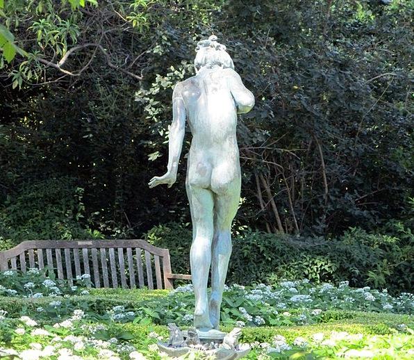 Statue Figurine Fashion Lady Beauty Garden Plot Wo