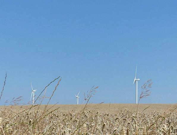 Windräder Wind Power Wind Park Wind Energy Summer
