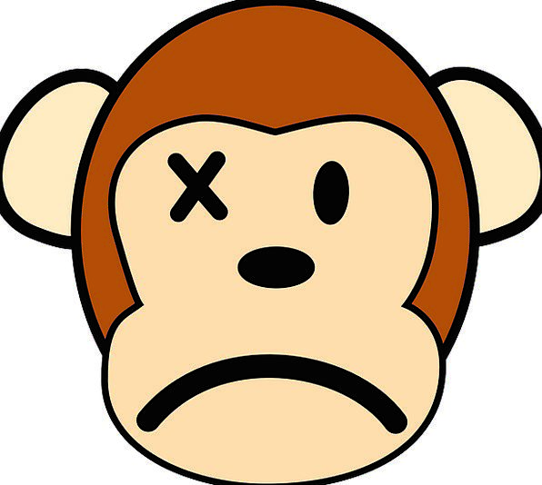 Monkey Ape Angry Annoyed Mad Faces Expressions Pri