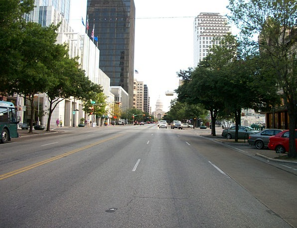 Austin Downtown Center Texas Congress Assembly Ave