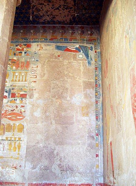 Egypt Symbols Temple Shrine Hieroglyphics Hatsheps