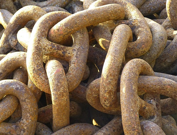 Chain Cable Firm Metal Metallic Iron Hard Anchor C