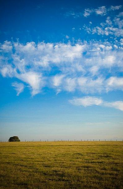 Field Arena Landscapes Nature Clouds Vapors Sky Vi