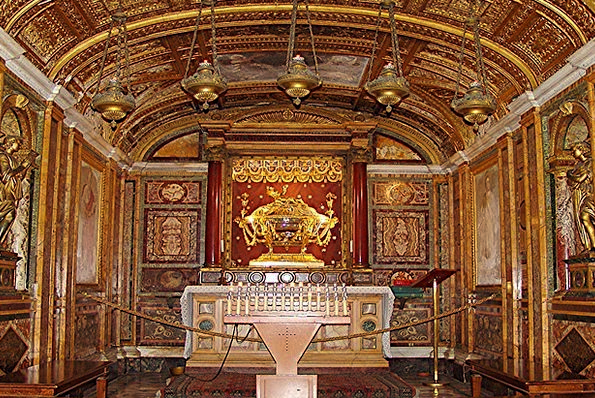 Rome Ecclesiastical Altar Table Church Faith Confi