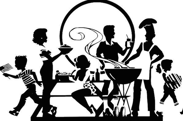 Bbq Drink Gathering Food Outdoors Out-of-doors Par
