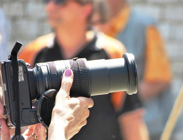 Photographer Paparazzo Man Gentleman Camera Photos