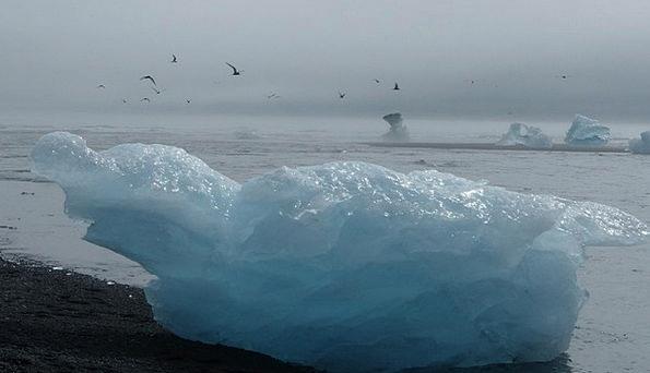 Iceland Vacation Travel Glacier Iceberg Ocean Mari