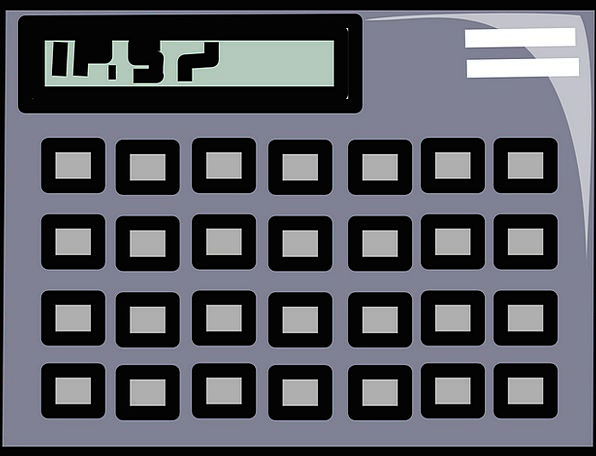 Calculator Adder Workplace Scientific Technical Of