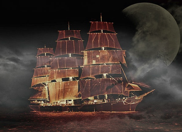 Sailing Ship Ship Vacation Container Travel Three