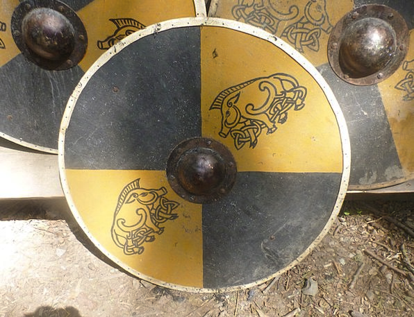 Shield Protection Knight Cavalier Middle Ages Hist