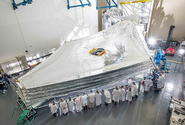Space Telescope Contract Sunshield Telescope Cosmo