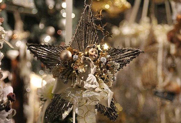 Christmas Star Interstellar Christmas Market Light