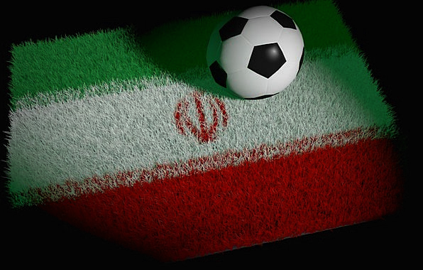 Football Ball Iran World Championship Semifinals W